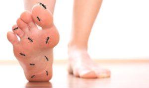 hormigueo por parestesia de berger
