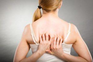 parestesia en la espalda